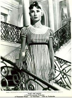 Audrey Hepburn in War & Peace