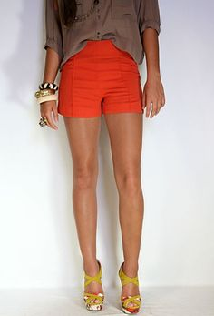 High Waisted Lined Shorts from Private Gallery
