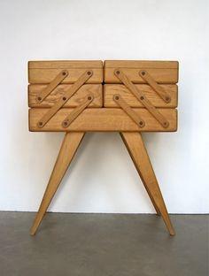 travailleuse vintage bo te couture moderne milieu de. Black Bedroom Furniture Sets. Home Design Ideas
