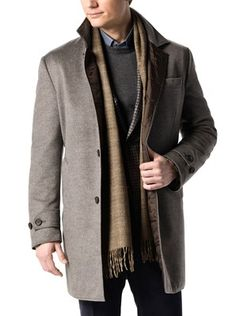 Wool Cashmere Quilted Coat - J. Hiburn Collection www.roderichopkins.jhilburn.com