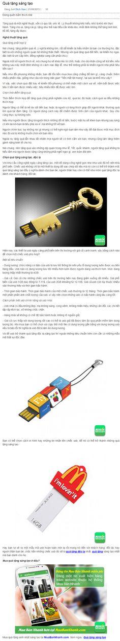 Quà tặng sáng tạo https://muabannhanh.com/tag/qua-tang-sang-tao