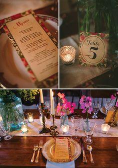 Weddimg reception decor for a farm wedding! | photo by JenniferTai | Magnolia Rouge