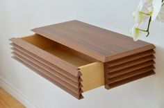 1000 images about shelf drawer on pinterest floating. Black Bedroom Furniture Sets. Home Design Ideas