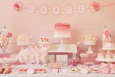 This morning we are featuring a girly girl party. Amanda at inviteme in Australia created this ballet themed dessert table for her daughter Grace's birthday. Complete with twirling ribbons, pink ruffles and dancing cupcakes, this was every little ballerina's dream. As their living room turned into a sea of tulle skirts and ballets slippers, the …