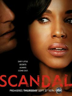 Scandal....my new guilty pleasure. Tony Goldwyn and Kerry Washington make one sexy power couple.