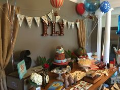 Vintage Airplanes/Word travel  Birthday Party Ideas | Photo 4 of 63