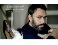 Juanjo Oliva en la editorial Elle