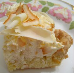 World's Best Triple Coconut Cream Pie for National Pie Day! - Foodista.com