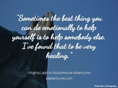 Virginia Ladd, founder and president of the American Autoimmune Related Diseases Association (AARDA) talked with me recently about all things autoimmune. Autoimmune, Virginia, The Cure, Bring It On, Healing, Notes, Adventure, American, Report Cards