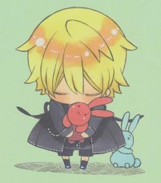 Pandora Hearts chibi Oz Vessalius bowing~ So cute!
