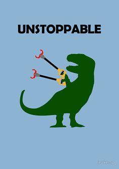 """Unstoppable T-Rex"" Photographic Prints by jezkemp | Redbubble"