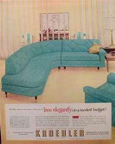 Kroehler couch.