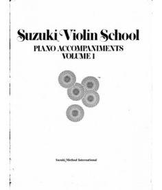 Suzuki Violin School. Violin with Piano Accompaniments. Volume 1