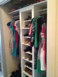 Heres A Look For The Teen Thats Big On Style And Heavy Wardrobe Sliding Doors Have Been Removed Revealing Shelving Unit Tall Armoire