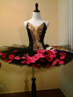 Ballet Costume Satanella Carnival of Venice by MadameAria on Etsy