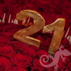 Red Hot, Twenty First birthday, rose petal cake Rose Petal Cake, Rose Petals, Twenty First Birthday, 21st Birthday, Warm Colors, Creative Design, Birthday Candles, First Birthdays, Special Occasion