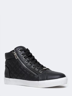 Steve Madden DECAF SNEAKER | I own these in complete black and let me tell you, comfy AND stylish!!