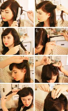 1940s Hair Tutorial