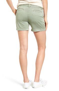 Main Image - Caslon® Cotton Twill Shorts (Regular & Petite)
