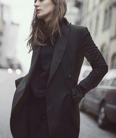 black on black #style #fashion #workwear