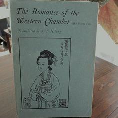 The Romance of the Western Chamber 1968 by  ProsperosBookshelf #China #drama #romance