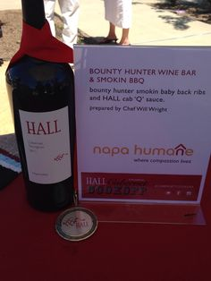 Silver Medal = Runner's Up at @HALL St. Helena | HALL Rutherford #cabernetcookoff Napa Valley