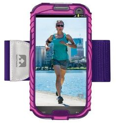 Nathan Sonic Boom Armband For Samsung Galaxy S3 Pink-Purple