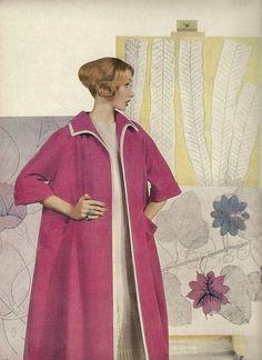 Hot Pink Coat 1959