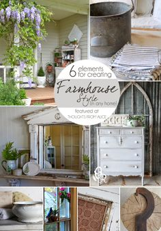 Thoughts from Alice: 6 Elements for Creating Farmhouse Style {in any home}