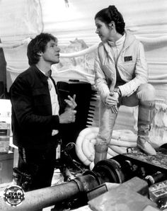 Han & Leia | Star Wars behind the scenes