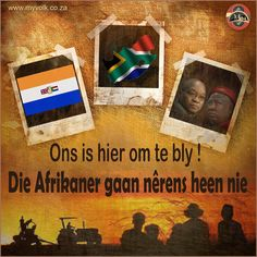 Afrikanerhart - die trekpad van 'n nasie Afrikaans Quotes, Christening, My Love, Party, Politics, Van, Tattoos, Africans, Future