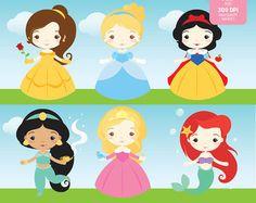 Princesa Sofia Clipart Set  descarga inmediata  archivos por araqua