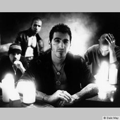 The Boston-based alternative metal group Godsmack were originally comprised of vocalist Sully Erna (a devout Wiccan), guitarist Tony Rambola, bassist Robbie Merrill, and drummer Tommy Stewart.