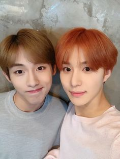 Sicheng and jungwoo of nct 127 winwin