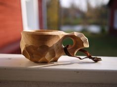 Kuksa – Wooden coffee cup #4 | Finnish Nature Shop
