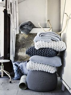 Great looking knits for the home