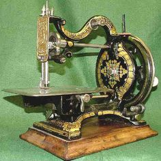 Sewing Machine - A Symbol Of Society Development - Late 1700's