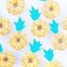 Pineapple donuts by Vickie Liu