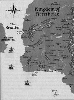 Map of Arrethtrae