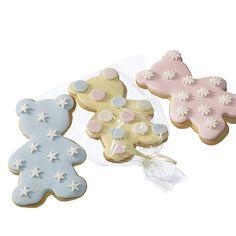Baby Shower Cookies - Teddy Bears