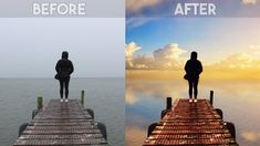 How to Change Overcast Photos into Awesome in Photoshop - Add Sunset to Boring Sky Easily & Quickly - Photography Website Video Training 101 Photography Basics, Photoshop Photography, Landscape Photography, Lightroom, Effects Photoshop, Photoshop Actions, Adobe Photoshop, Photoshop Face, Photoshop Website