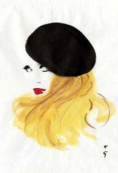 Galliano's Inspiration for Christian Dior Couture Spring 2011 Collection: René Gruau – Swing Fashionista Art And Illustration, Rene Gruau, Jacques Fath, Elsa Schiaparelli, Christian Dior Couture, Artwork Images, Pierre Balmain, Fashion Sketches, Fashion Illustrations