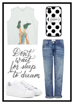"""""""#477 dreams"""" by xjet1998x ❤ liked on Polyvore featuring Current/Elliott, adidas and Chicnova Fashion"""
