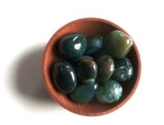 10 MOSS AGATE CRYSTALS  stones crystal grid