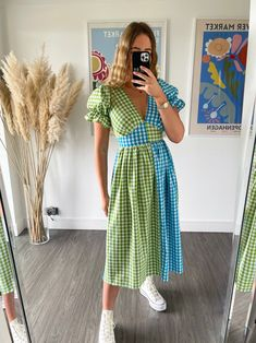 Quirky Fashion, Colorful Fashion, Fashion Looks, Romper With Skirt, Dress Skirt, What To Wear Today, Outfit Goals, Alternative Fashion, Women's Fashion Dresses