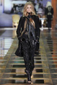 Roberto Cavalli Fall 2010 Ready-to-Wear Fashion Show - Magdalena Frackowiak