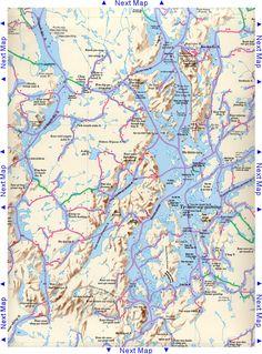 Temagami Nastawgan Map - Ottertooth.com