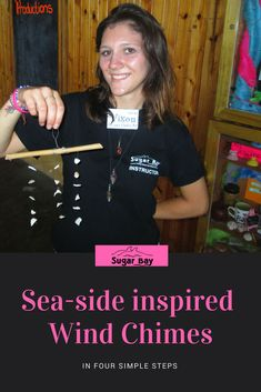 Want To Improve Your Fishing Skills? Camping Crafts, Wind Chimes, Sea Shells, Drill, Knots, Bamboo, Fishing, It Cast, Wire
