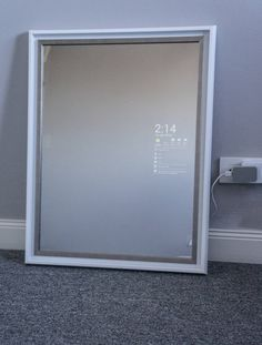 "Simply Smart Mirror (18"" x 24"") / Magic Mirror / Vanity Mirror / Android"