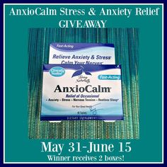 Relieve Stress and Anxiety Naturally with AnxioCalm Plus Giveaway #Sponsored 6/15 - Newly Crunchy Mama Of 3